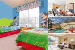 Windsor Getaway | West Facing Townhome with Custom Mickey Mouse Themed Room, Upgrades Dec, 2015
