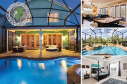 Paradise Landing | 4 Bed Pool Villa with Upgrades Throughout Located Near Lake