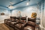 Enjoy the experience of being at the movies right in this vacation home