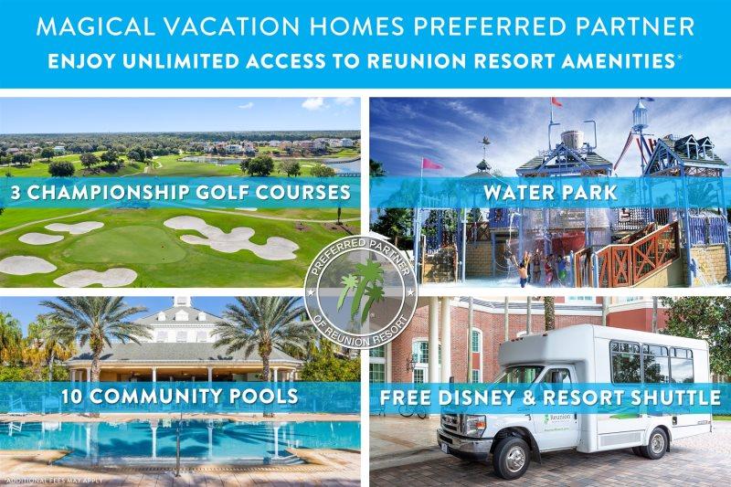 Reunion Resort Home Rental Orlando Retreat 9br