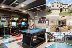 Champion Villa | 8 Bed 5 Bath Villa with Theater Room, Games Room, and Arcades
