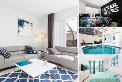 Skywalker Getaway | South-west Facing Pool Townhome with Star Wars Theme Room