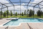Bask in the sun by your private pool