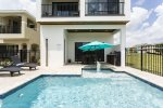 Enjoy your private pool with sunshelf