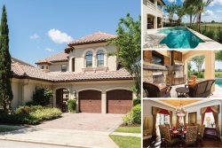 Muirfield Retreat   4,589 sq. ft Villa with a Private Pool and Spa with Golf Course Views, Theater Room and Luxury Throughout