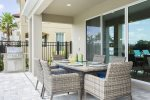 Enjoy an evening meal on your private lanai
