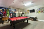 The Games room will be a hit with everyone