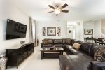 Gather together as a family in this spacious living room
