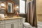 Get ready in this amazing customized bathroom