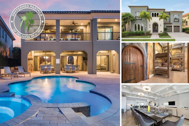 Beautiful Signature Estate   Luxury 7 Bed Signature Estate Vacation Home With 5  Suites, Kids Bedrooms, 2 Game U0026 Arcade Room, Home Theater, Private Pool U0026  Spa