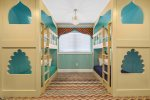 The Aladdin suite has an en-suite bathroom for the kids to share