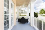 You will have a spacious wrap around porch with outdoor seating