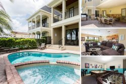 Golden Bear Getaway | 6 Bed Villa with Private Pool & Summer Kitchen, Games Room & Luxury Throughout