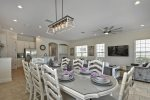 Enjoy family meals at the dining table