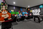 This amazing game room will provide hours of entertainment