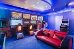 All the great arcade games are in this room
