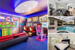 Windsor Fun | 4 Bed Villa with Arcade Machines, Home Theater, Private Pool and Spa