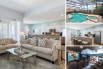 Windsor Bliss | 4 Bed Home with Private Theater & Games Room, Private Pool & Spillover Spa & Kids Bedroom