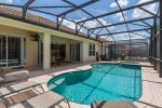 Soak up the Florida sun lounging by your private pool