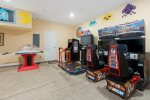Pick from all the greats in this fun games room
