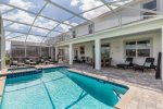 Private screened-in pool for your family to enjoy