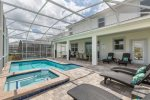 Enjoy your private pool and spa anytime