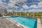 Soak up the Florida sun out on the pool deck