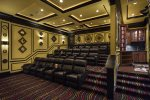 18 stadium style seats in the home theater