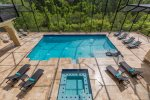 Relax by your private pool anytime