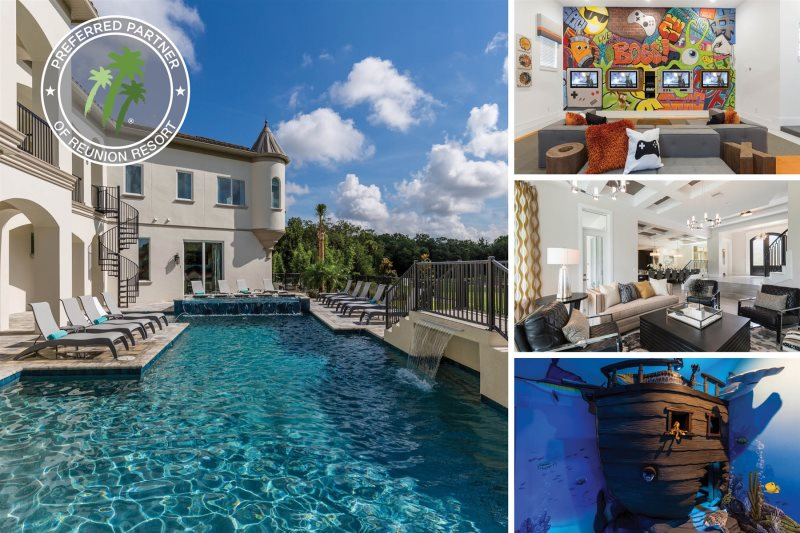 Vacation Home Rentals >> Reunion Vacation Home Rental Luxury Estate 12 Br