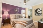 This bedroom features a 50-inch SMART TV and en-suite bathroom