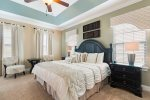 Head upstairs to Master Suite 2 featuring a King sized bed