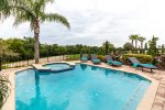 Soak up some Florida sunshine at your private pool