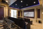 Unleash your fun in the custom built games room
