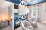 The kids will love their own custom bedroom