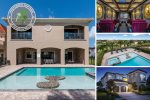 Vacation in a luxurious 8 bed 8 bath villa