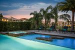 Take an evening swim after coming home from the Orlando attractions