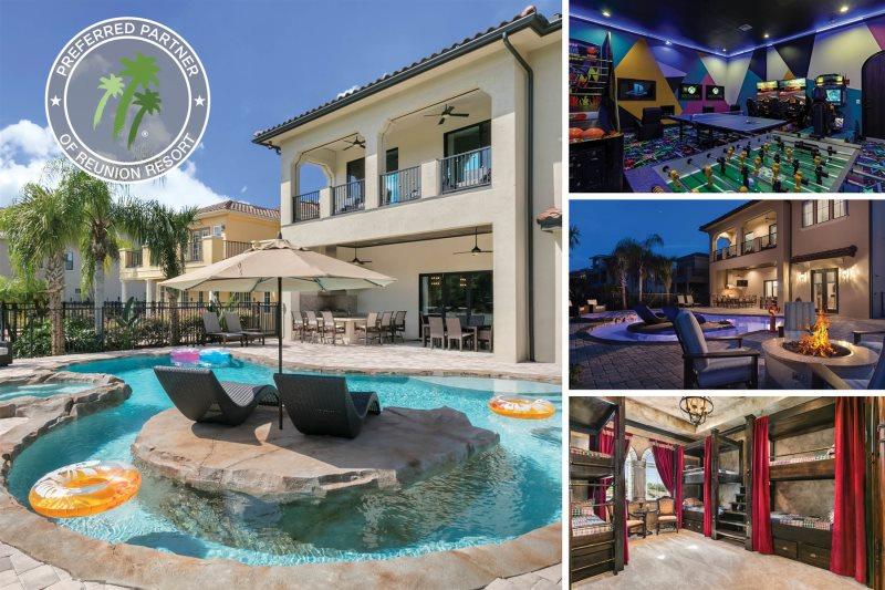 Reunion Resort Home Rental | 9 BR | 9 Baths | 580 Muirfield Loop