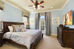 Master Suite 4 features a king size bed and en-suite bathroom