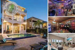 House of Views | 6 Bed, 3 floors Villa with Elevator, Custom Built Kids` Bedroom, Games Room, Infinity Edge Private Pool and Spillover Spa