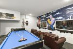 The fun games room will be your favorite room in the house