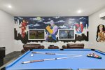 Spend your day playing in the newly renovated games room