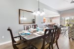 Beautiful formal dining table to seat 6