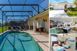 Pawnall Bliss | 4 Bed Villa with Fun Kids Bedroom and Screened-In Private Pool