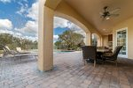 Enjoy the gorgeous Florida weather from your own private patio