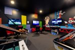 Fun game room with everything you need for a good time
