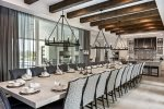 Seating for 30 at this extraordinary dining table
