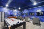 A game room that`s out of this world