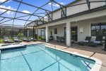 Enjoy a beautiful private screened in pool