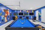 Get your game on in this fun arcade games room